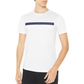 Vêtements Homme T-shirts manches courtes Antony Morato T-SHIRT GIROCOLLO CON STAMPA Blanc