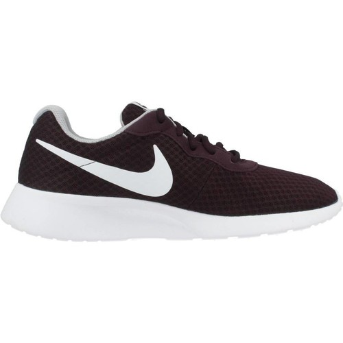 Nike TANJUN Rouge - Chaussures Baskets basses Homme