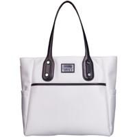 Sacs Femme Cabas / Sacs shopping Kesslord ATTITUDE HEIDI_TWILL_BL Blanc