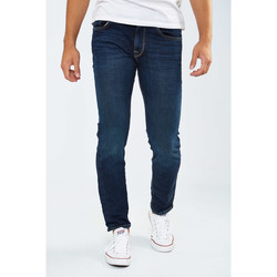 Vêtements Femme Jeans slim Selected Jean  Leon 1003 Slim Fit Bleu Homme Bleu