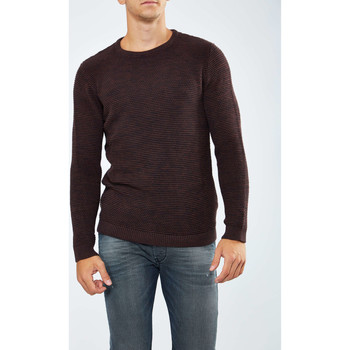 Vêtements Femme Pulls Selected Pull  Shnnewvincebubble Crew Neck Bordeaux Homme Bordeaux