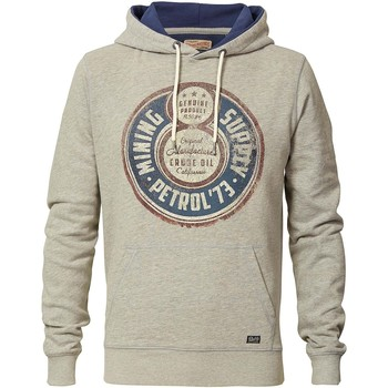 Vêtements Homme Sweats Petrol Industries Sweat homme vintage gris à capuche gris