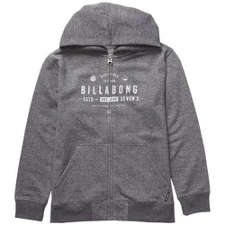 Vêtements Garçon Sweats Billabong Sweat  Watcher Zip Hood - Dark Grey Heather Gris