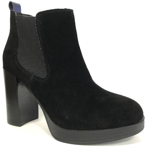 Cassis Côte D'azur Cassis cote d'azur Bottine Ludivine Noir Noir - Chaussures Bottine Femme