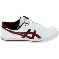 Chaussures Homme Baskets basses Asics Aaron Blanc Rouge Blanc
