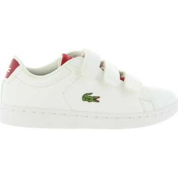 Chaussures Enfant Baskets basses Lacoste 34SPC0001 CARNABY Blanco