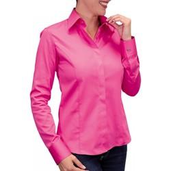 Vêtements Femme Chemises manches longues Andrew Mc Allister chemise mousquetaire new styl rose Rose