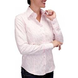 Vêtements Femme Chemises manches longues Andrew Mc Allister chemise pastel waterlily rose Rose