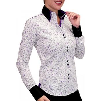 Vêtements Femme Chemises manches longues Andrew Mc Allister chemise double bouton penelope blanc Blanc