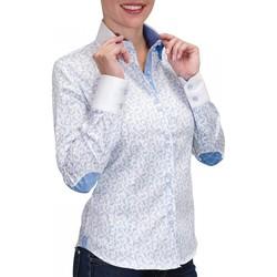 Vêtements Femme Chemises manches longues Andrew Mc Allister chemise a coudieres droopy bleu Bleu