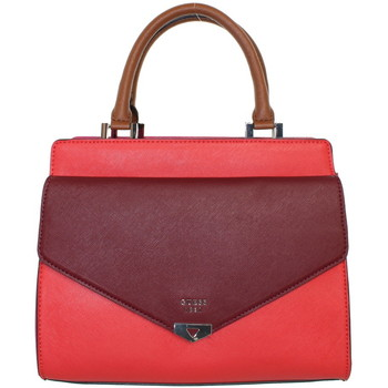 Sacs Homme Sacs porté main Guess Sac à main  Lottie ref_guess41514-ctm-27*22*11 Rouge