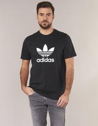 Vêtements Homme T-shirts manches courtes adidas Originals TREFOIL T SHIRT Noir