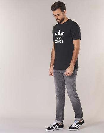 Manches Vêtements Noir Homme Courtes Originals Trefoil T shirts T Adidas Shirt j54ARLq3