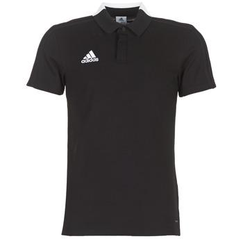 Vêtements Homme Polos manches courtes adidas Performance CON18 CO POLO Noir