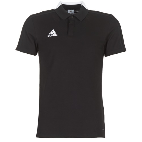 Vêtements Homme Polos manches courtes adidas Originals CON18 CO POLO Noir