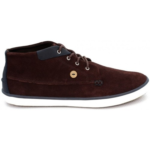 Faguo wattle suede Nutmeg - Chaussures Basket montante Homme
