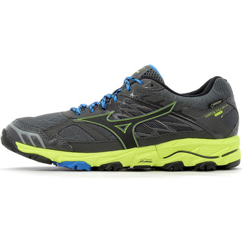 Chaussures Homme Baskets basses Mizuno Wave Mujin 4 GTX Castle Rock / Black / Safety Yellow
