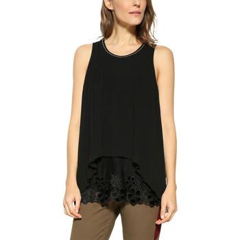 Vêtements Femme Tops / Blouses Desigual T Shirt Marilin Navy 17WWBW85 38