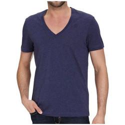 Vêtements Homme T-shirts manches courtes Nike Tee-shirt G-star V-Neck - 87610A-2757-2216 Bleu