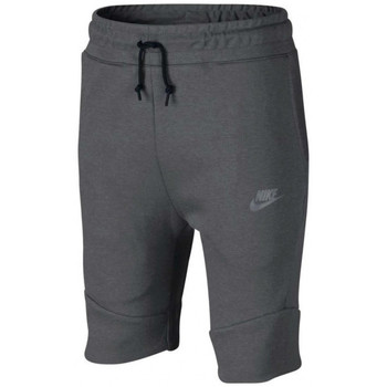 Vêtements Enfant Shorts / Bermudas Nike Short  Tech Fleece Junior - Ref. 816280-093 Gris