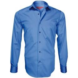 Vêtements Homme Chemises manches longues Andrew Mc Allister chemise mode redbridge bleu Bleu