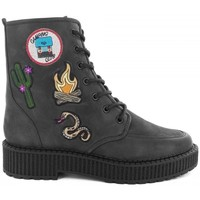 Chaussures Femme Baskets montantes Katy Perry Bottines- Noir