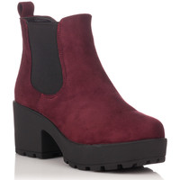 Chaussures Bottines Coolway IRBY rouge