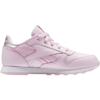 Chaussures Fille Baskets basses Reebok Classic Classic Leather Pastel - Pre-School Blanc
