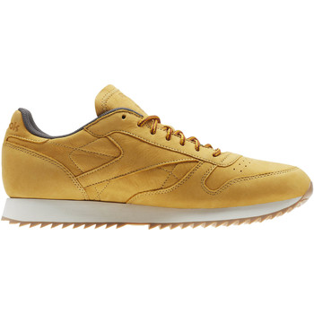 Chaussures Homme Baskets basses Reebok Classic Classic Leather Ripple WP Jaune / Blanc