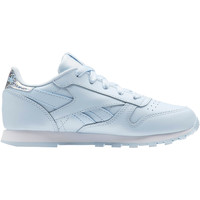 Chaussures Fille Baskets basses Reebok Classic Classic Leather Pastel - Pre-School Bleu / Blanc