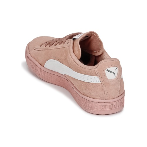 W's Femme Chaussures Baskets Basses RoseBlanc Suede Classic Puma EH9DI2