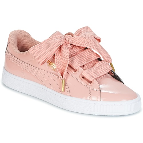 puma basket heart patent wn's sneakers basses femme