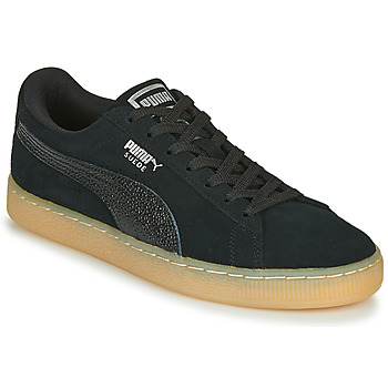 Chaussures Femme Baskets basses Puma SUEDE CLASSIC BUBBLE W'S Marine