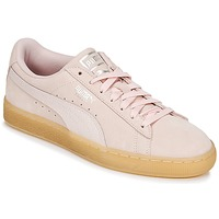 Chaussures Femme Baskets basses Puma SUEDE CLASSIC BUBBLE W'S Rose