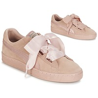 Chaussures Femme Baskets basses Puma W SUEDE HEART EP Rose