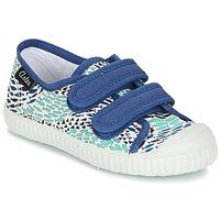 Chaussures Garçon Baskets basses Aster MICKY Blanc / Bleu