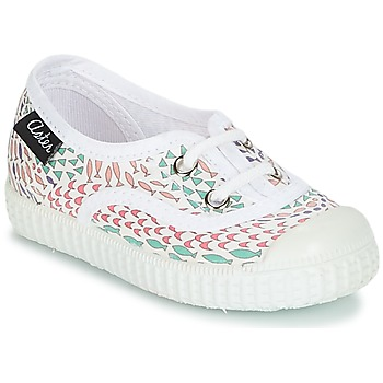 Chaussures Fille Baskets basses Aster MILEY Blanc
