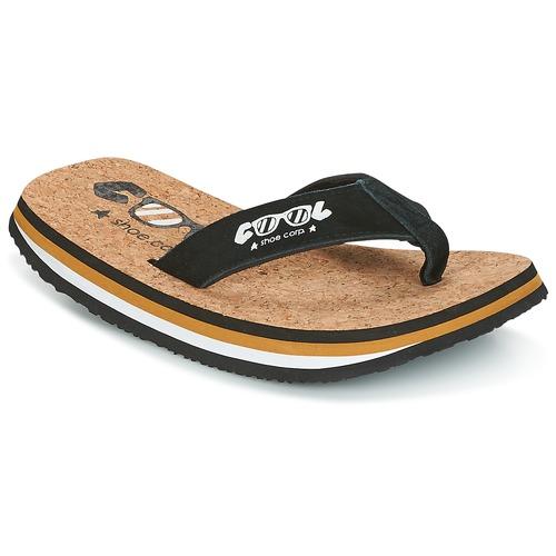 Chaussures Homme Tongs Cool shoe ORIGINAL Noir / Camel