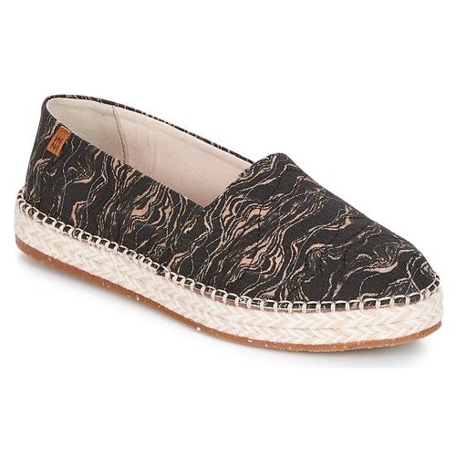 El Naturalista SEAWEED CANVAS Noir / Gris - Livraison Gratuite avec  - Chaussures Espadrilles Femme