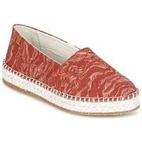 Chaussures Femme Espadrilles El Naturalista SEAWEED CANVAS Rouge / Orange