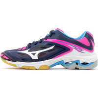 Chaussures Femme Baskets basses Mizuno Wave Lightning Z3 Women Peacoat / White / Pink Glo