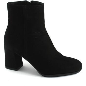 Chaussures Femme Bottines Grunland Grünland ?tít PO1290 chaussures noires femme bottines zip talon Nero