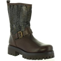 Chaussures Femme Bottines MTNG 93572 Marr?n