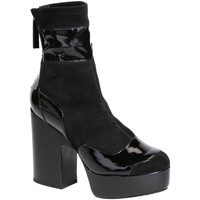 Chaussures Femme Bottines Pierre Hardy LM05 nero