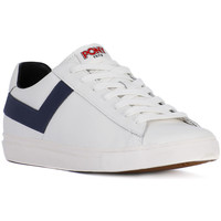 Chaussures Homme Baskets basses Pony TOPSTAR OX WHITE NAVY Bianco