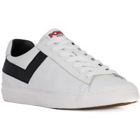 Chaussures Homme Baskets basses Pony TOPSTAR OX WHITE BLACK Bianco