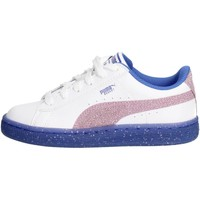 Chaussures Fille Baskets basses Puma 363897 02 Petite Sneakers Fille Blanc Blanc