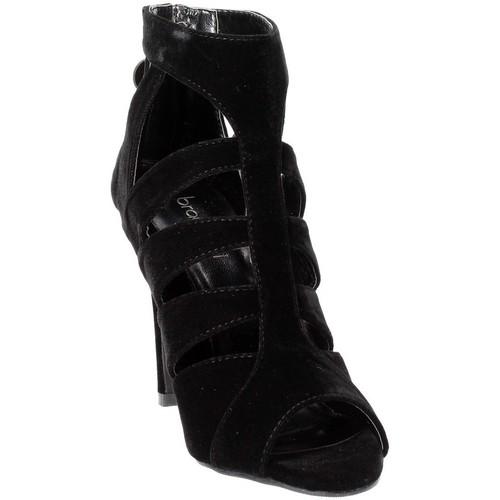 4060 Braccialini sandales et nu-pieds femme noir