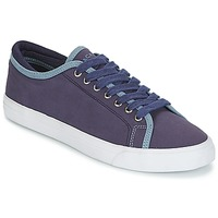 Chaussures Homme Baskets basses Hackett MR CLASSIC PLIMSOLE Marine
