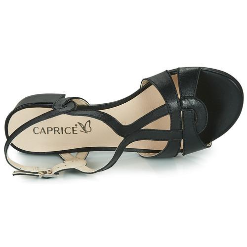 Nu Femme Noir Satibo Caprice Et pieds Sandales Yvbfg76y